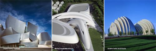Gehry-Hadid-Safdi